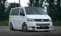 VW T5 Komplettvers Spoiler Set Body Kit Tuning Umbau neu Verbau