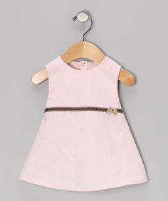 Pink Bow Dress - Infant by Natural Charm on #zulily today!  $14.99
