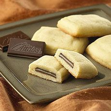 Andes Mint Pillow Cookies