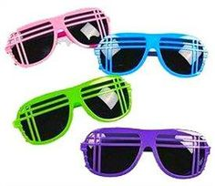 80s Style Party Shades/Sunglasses
