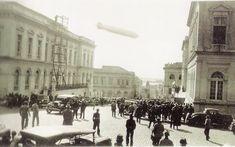 Zeppelin sobrevoando Porto Alegre em 26/06/1934 Porto Alegre do passado – Coletânea de fotos de 1880 a 1970 - SkyscraperCity