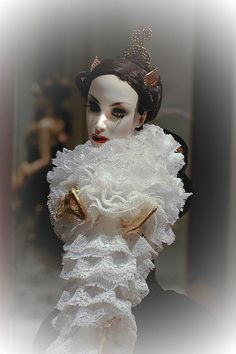 "IV International Doll Salon in Moscow 2008 superdoll The Sybarites Chalk White ""Resurection"" by evgenia_dolls, via Flickr"