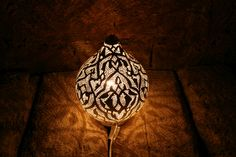 Maroc-Leuchte, Kugelform