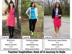A Little Bit of WoWe : Teacher Wardrobe Staples: Part 4 [The Inspiration]