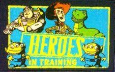"""Toy Story Childrens """"Hereos in Training"""" Throw Rug Mat by GA Gertmenian & Sons. $23.95. Rubber backed. 100% Nylon. 17.5"""" x 28"""". 17.5"""" x 28"""" throw mat rug"""