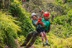 This lush, tropical country is a veritable playground for families, and the opportunities for fun are endless. Learn more - www.smithsonianjourneys.org/tours/family-costa-rica/