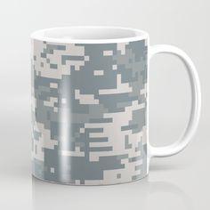 Camouflage Coffee Mug by camouflagedextergornez Cold Drinks, Camouflage, Coffee Mugs, Ceramics, Tableware, Ceramica, Cool Drinks, Pottery, Dinnerware