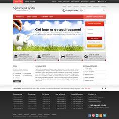 """Create the next website design for CJSC MDO :""""Spitamen Capital"""""""