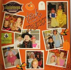 Trick or Treat, thru the years - Angie's Gallery