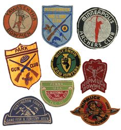 Vintage Merit Patches