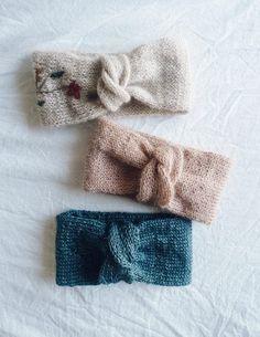 Free Knitting Pattern - Headband With a Twist (ENG) Baby Knitting Patterns, Free Knitting, Crochet Patterns, Crochet Headband Pattern, Knitted Headband, Knitted Owl, Knitting Accessories, Bandeau, Knitting Projects