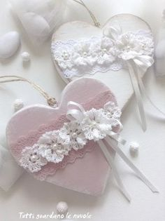Tutti guardano le nuvole: Shabby Chic Wedding Favor