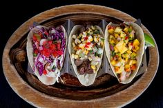 Photo of Naked Taco - Miami Beach, FL, United States. fish, beef, chicken tacos!