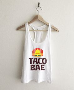 Taco Bae Women's Racerback Tank Top by AvaWilde on Etsy