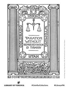 Print & color! The Equal Suffrage League of Virginia, organized in 1909 in Richmond, publicized & lobbied for women's issues, hoping to win the political vote. Coloring selection from the Equal Suffrage League records, as well as additional political ephemera from the Library of Virginia's Visual Studies Collection. Post with #ColorOurCollections and tag @LibraryofVA to share your creations. #history #coloring #suffrage #womenshistory #ephemera Ephemera, Equality, Virginia, Coloring, Collections, History, Women, Social Equality, Historia