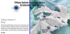 Silpada Allure vs Tiffany Soleste! Huge price difference!