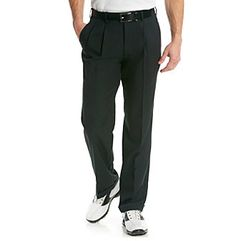 PGA TOUR® Men's Caviar Double Pleated Golf Pant