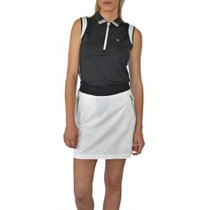 Designer women's golf clothing from J. The Golf Society has the best range of stylish and functional golf clothing. Golf Outlet, Ladies Golf, Women Golf, Womens Golf Shirts, Golf Attire, Golf Wear, Golf Skirts, Golf Fashion, Play Golf