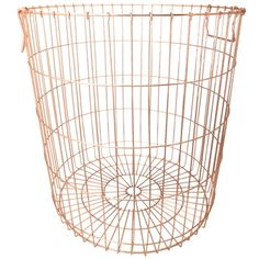 Jax Tall Basket 51cm  Copper Colour