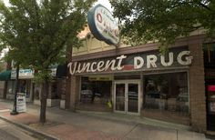 "Vincent Drug, on Main Street in Midvale, was used in the movie, ""The Sandlot."" (Rick Egan  