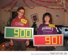 awesome costume, especially for couples! The Price Is Right… @Katie Pile @Wendi Slobodny-Nalty  you two should totally do this and make games to match. ;)