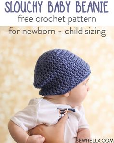 This baby beanie is so incredibly easy and simple. These would be great for  craft af3db4a0f46a
