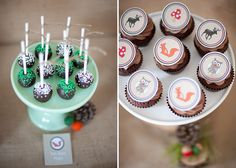 Woodland Party by Sooti and Sweet, Photography by Mel Boulden Photography.