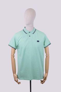 Weekend Offender Long Island Polo Shirt - Pistachio