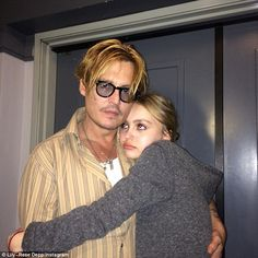 'To be honest, I'm quite worried': Johnny Depp has revealed he's concerned about his teenage daughter Lily-Rose's fast moving career in film and fashion