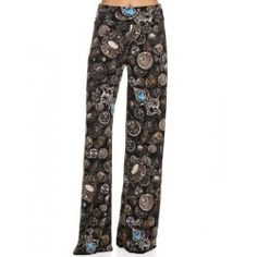 COIN PRINT PALAZZO PANTS APPAREL https://allaboutyougifts.com/#DG0306