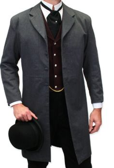 Chester Hamilton's clothing (accounant for Flannery in San Francisco - fictional character)