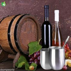 Wine Rack, Wine Glass, Barrel, Stainless Steel, Home Decor, Decoration Home, Barrel Roll, Room Decor, Barrels