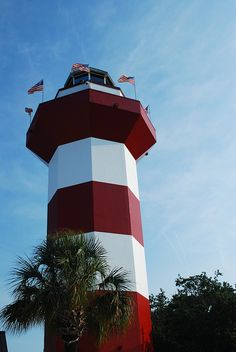 Well I've been here a bunch of times - Hilton Head Island ... This lighthouse is precisely where my parents met. =) It makes me happy to think about.