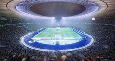 Znalezione obrazy dla zapytania olympiastadion berlin