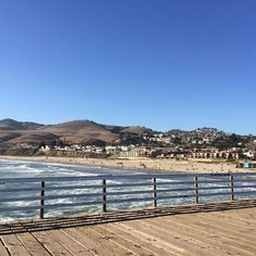 How do you relax after a long day? The Pismo Pier is perfect for an evening stroll. Complete with serene views and fresh ocean air! San Luis Obispo County, Pismo Beach, Where The Heart Is, Be Perfect, Serenity, Relax, Ocean, Fresh, Places
