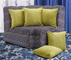 Buy Dekor World Cotton Velvet Stripe Cushion Cover (Pack of 5) at Just Rs 1179