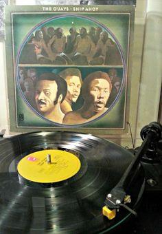 """The O'Jays """"Ship Ahoy"""", c. 1973  #vinyl #music"""