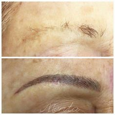 De nuevo, otro tratamiento de Micropigmentación de cejas, más densidad más expresión y ante todo naturalidad