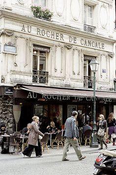 Parisian Cafe, Rue Montorgueil