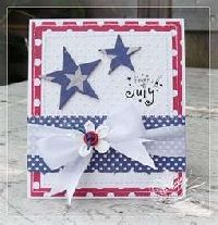 Fourth Of July Card Greetings Greeting Cards