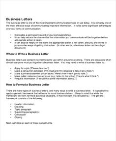 Letter Greetings Fair 35 Formal Business Letter Format Templates Exles Template Lab  News .