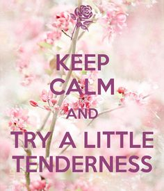 KEEP CALM AND TRY A LITTLE TENDERNESS - KEEP CALM AND CARRY ON Image Generator