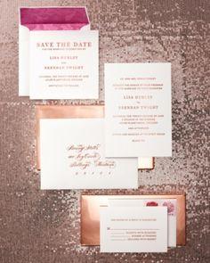 7 #Gorgeous Ideas for Metallic #Wedding Theme ...