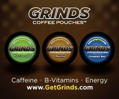 Grinds Coffee Pouches are a substitute for Chewing Tobacco & an energy supplement. They've been sold to ball players, but do Sharks like them