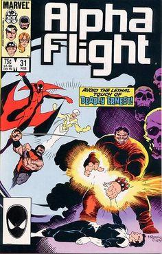 Alpha Flight # 31 by Mike Mignola