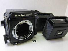 S1127BA マミヤ MAMIYA RZ67 ボディ+フィルムホルダー ジャンク_画像1