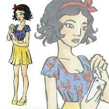 My love. She is the best drawer i ever saw Drawer, Disney Characters, Fictional Characters, Snow White, Disney Princess, My Love, Snow White Pictures, Drawers, Sleeping Beauty