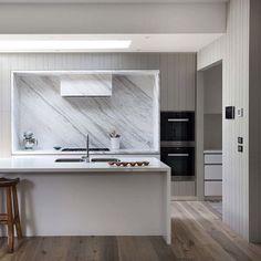 Beautiful kitchen by Melbourne's Romy Dankner of @homeroomstudio