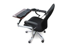 Elink Pro Chair Mount Ergonomic Keyboard Laptop Tray