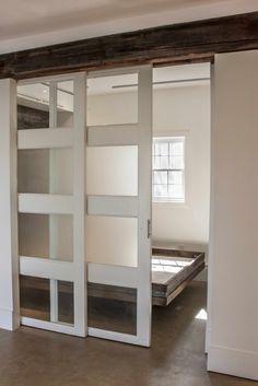doors on bedroom